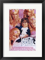 Framed Austin Powers: International Man of Myst