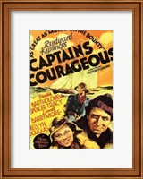 Framed Captains Courageous - Yellow
