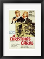 Framed Christmas Carol