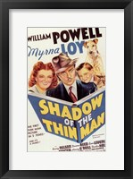 Framed Shadow of the Thin Man