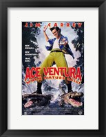 Framed Ace Ventura: When Nature Calls