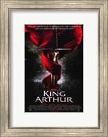 Framed King Arthur Sword