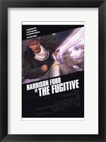 Framed Harrison Ford is The Fugitive