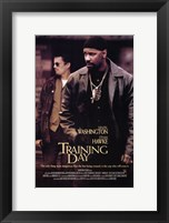 Framed Training Day Denzel Washington