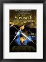 Framed Princess Mononoke, c.1998 - style B