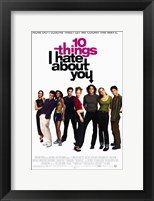 Framed Ten Things I Hate About You Film