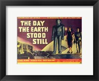 Framed Day the Earth Stood Still Horizontal