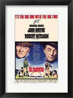 Framed El Dorado Movie John Wayne
