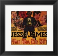 Framed Jesse James Power Fonda Kelly and Scott