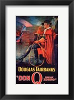 Framed Don Q Son of Zorro