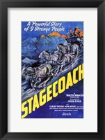 Framed Stagecoach A Powerful Story of 9 Strange People