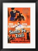 Framed Santa Fe Trail