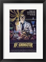 Framed Re-Animator HP Lovecraft