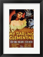 Framed My Darling Clementine