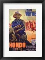 Framed Hondo Italian