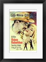 Framed Misfits Clark Gable
