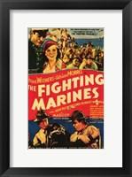 Framed Fighting Marines