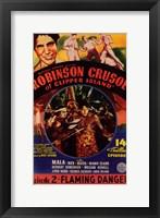 Robinson Crusoe of Clipper Island Episode 2 Framed Print