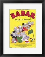 Framed Babar: King of the Elephants