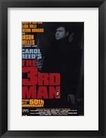 Framed Third Man 50th Anniversary