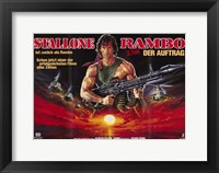 Framed Rambo: First Blood Part 2 Wide