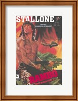 Framed Rambo: First Blood Part 2 Sylvester Stallone