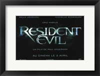 Framed Resident Evil - wide