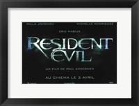 Framed Resident Evil - wide