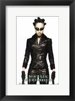 The Matrix Reloaded Niobe Framed Print