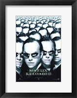 Framed Matrix Reloaded Agent Smith