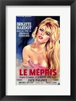 Framed Le Mepris