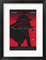 Framed Mask of Zorro