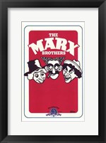 Framed Marx Brothers