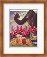 Framed King Kong Fay Wray