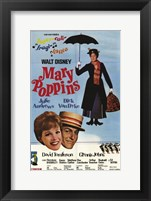 Framed Mary Poppins Supercali-fragi-lisdica
