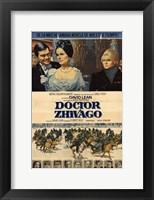 Framed Doctor Zhivago with Horse Scene