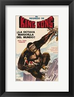 Framed King Kong Escapes