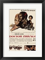 Framed Doctor Zhivago Spanish
