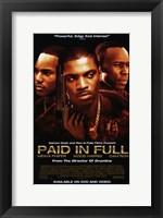 Framed Paid in Full