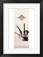 Framed Magnum Force - Clint Eastwood
