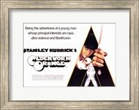 Framed Clockwork Orange Principle Interests