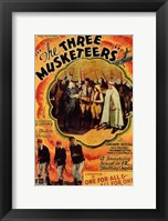 Framed Three Musketeers - Orange