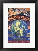 Robinson Crusoe of Clipper Island Episode 8 Framed Print
