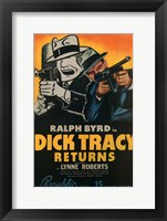 Framed Dick Tracy Returns