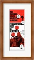 Framed Frankenstein Must Be Destroyed Monstrous