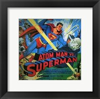 Framed Atom Man Vs Superman