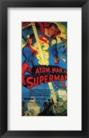 Framed Atom Man Vs Superman Tall
