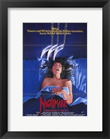 Framed Nightmare on Elm Street  a - woman