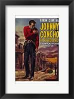Framed Johnny Concho