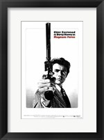 Framed Magnum Force - Dirty Harry